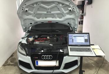 CMD unterstützt nun den Audi 2.5 TFSI CZGB Motor aus dem RS3